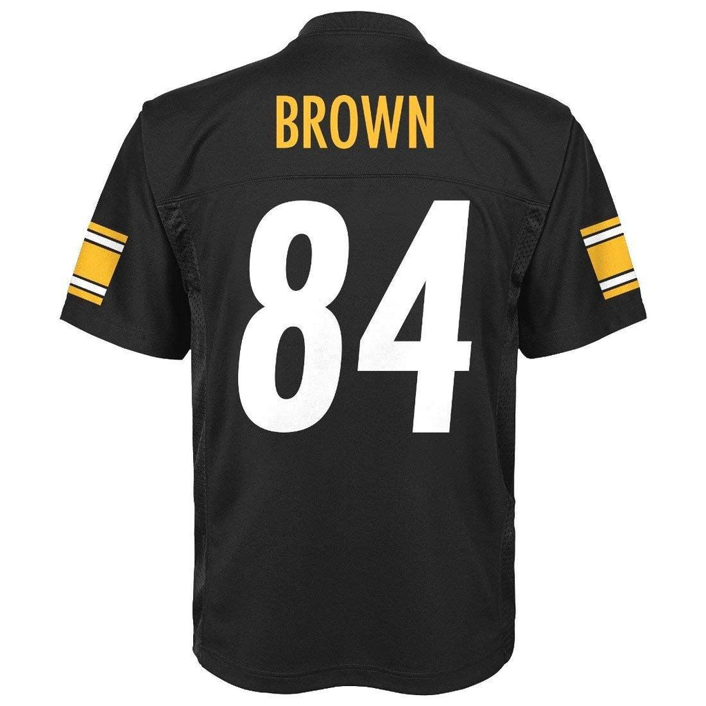811567a3 Outerstuff NFL Youth #84 Antonio Brown Pittsburgh Steelers Performance  Fashion Jersey