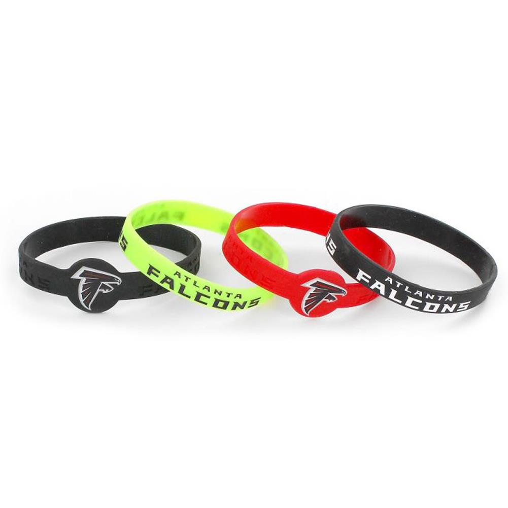 aminco NCAA LSU Tigers Silicone Bracelets 4-Pack