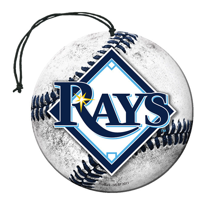 Team Promark MLB Tampa Bay Rays Air Freshener 3 Pack Nu-Car Scent