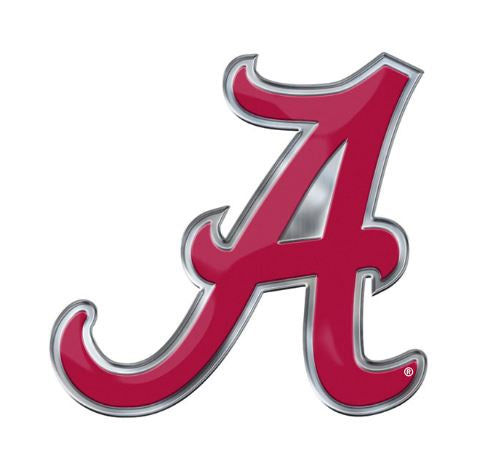 "Promark NCAA Alabama Crimson Tide ""A"" Logo Team Auto Emblem"