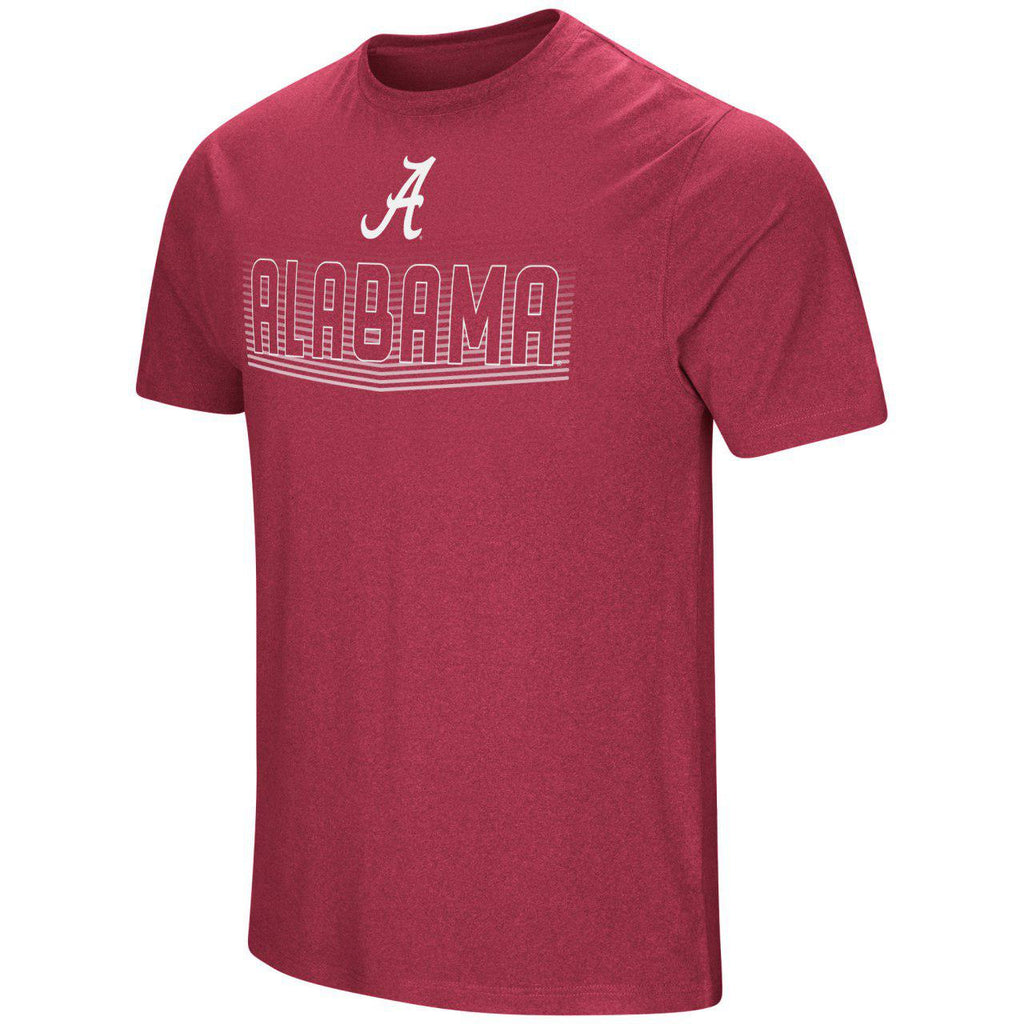 Colosseum NCAA Men's Alabama Crimson Tide Electricity T-Shirt