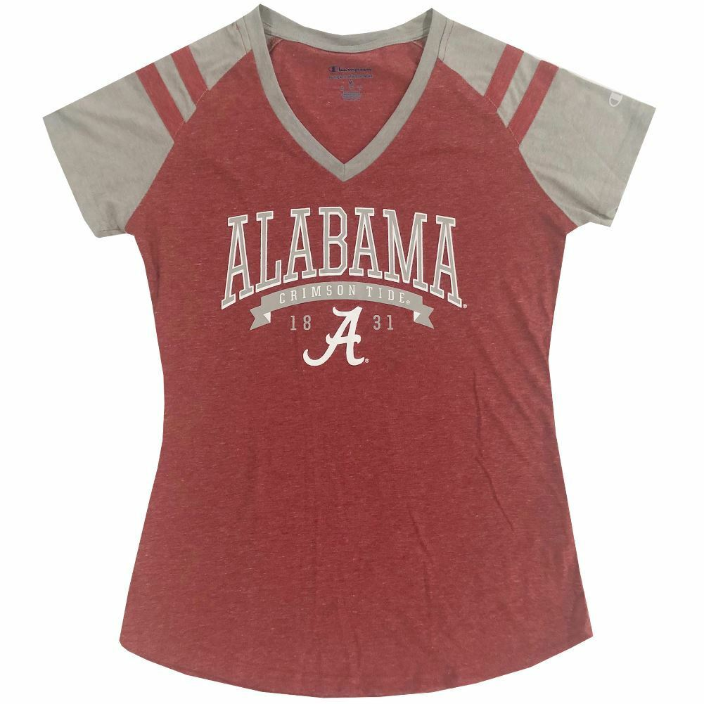 Champion NCAA Women's Alabama Crimson Tide Sophomore V-Neck