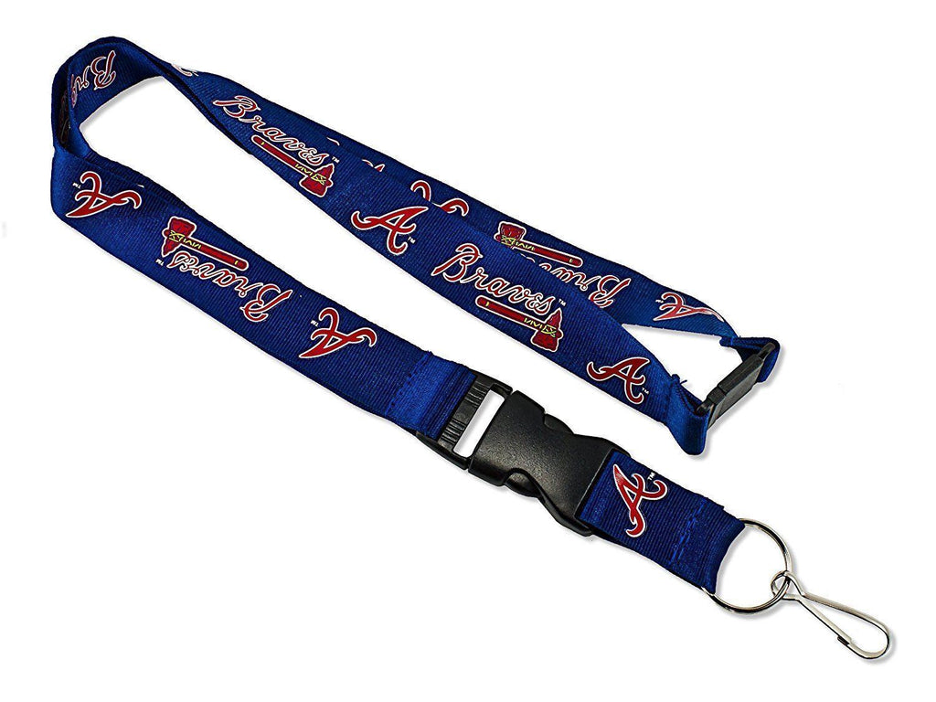 Aminco MLB Atlanta Braves Breakaway Lanyard Navy