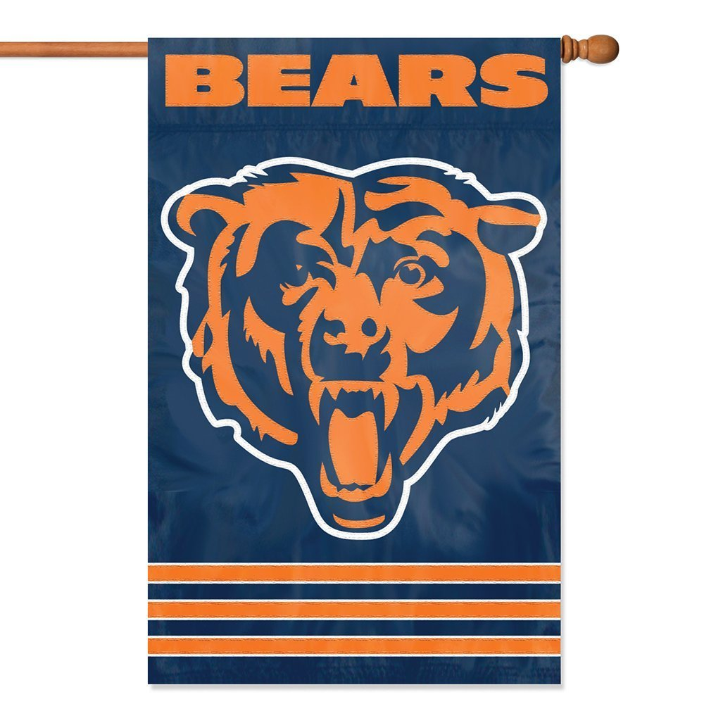 Party Animal NFL Chicago Bears 28 x 44 House Banner Flag