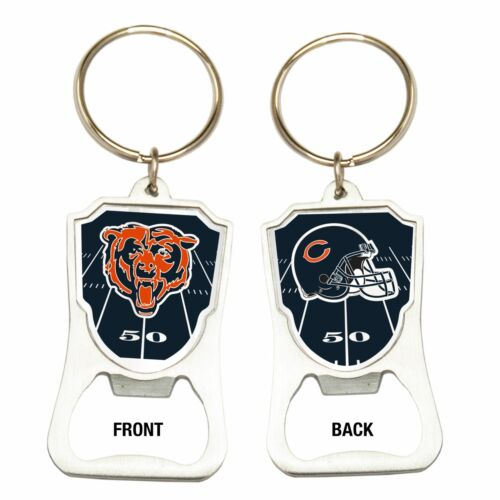 Great American Products NFL Chicago Bears Bottle Opener Keychain Steel