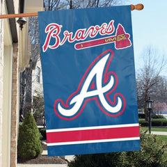 Party Animal MLB Atlanta Braves 28 x 44 House Banner Flag