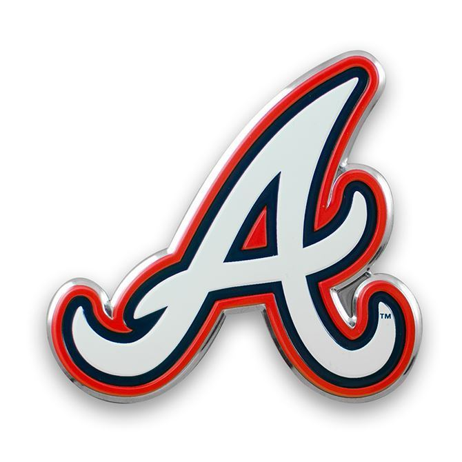 Team Promark MLB Atlanta Braves Team Auto Emblem