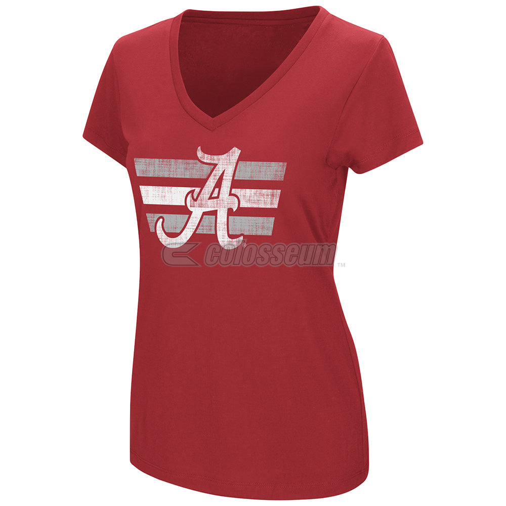 Colosseum NCAA Women's Alabama Crimson Tide Powerplay T-Shirt