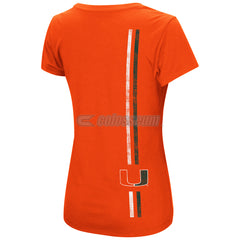 Colosseum NCAA Women's Miami Hurricanes Powerplay T-Shirt