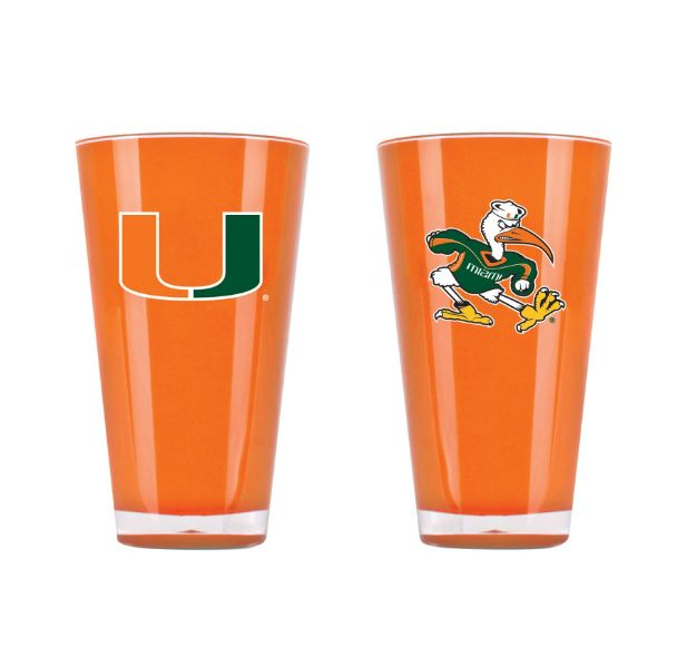 Duck House NCAA Miami Hurricanes  Insulated Tumbler Cup 20 oz
