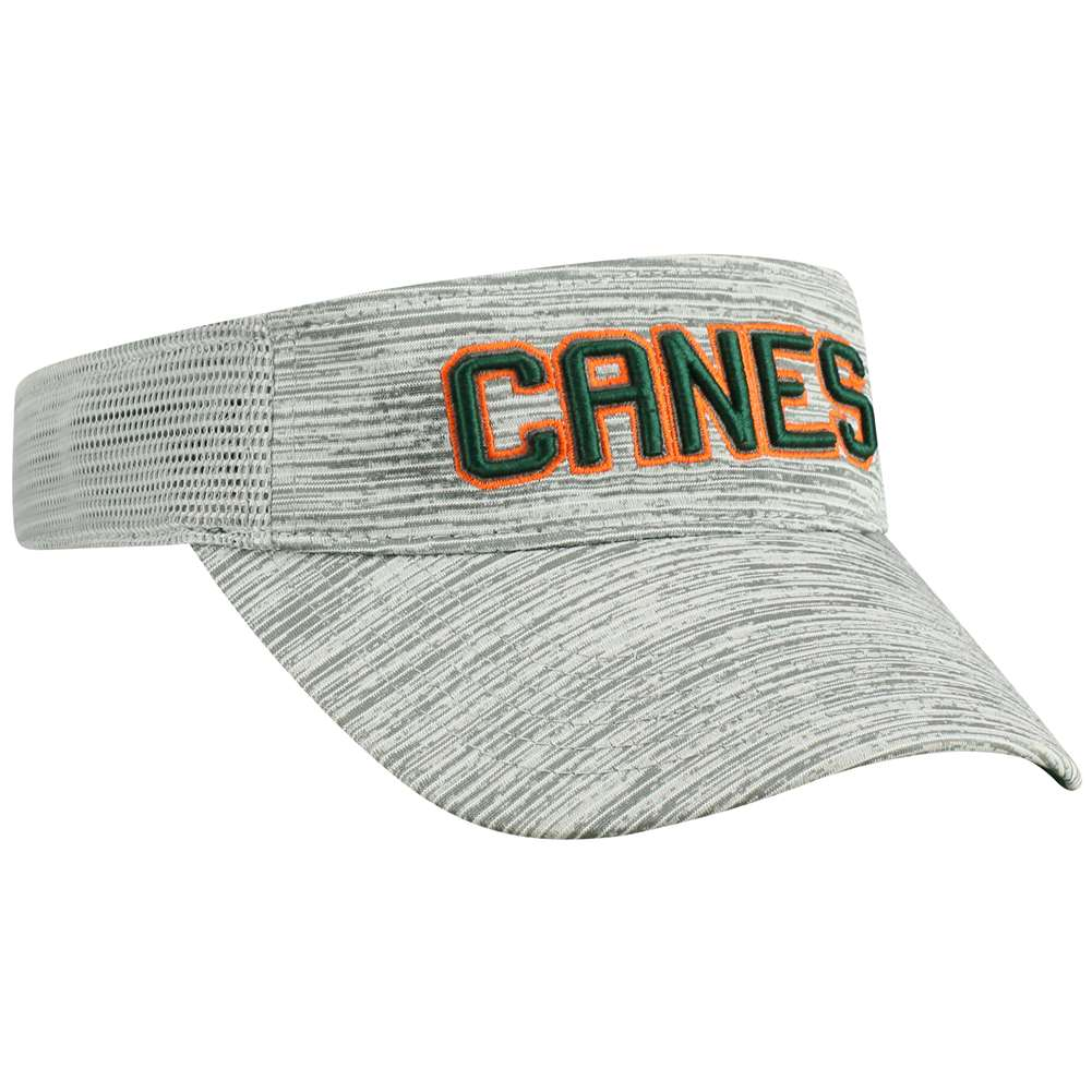 Top Of The World NCAA Miami Hurricanes Two-Tone Ballholla Snapback Visor