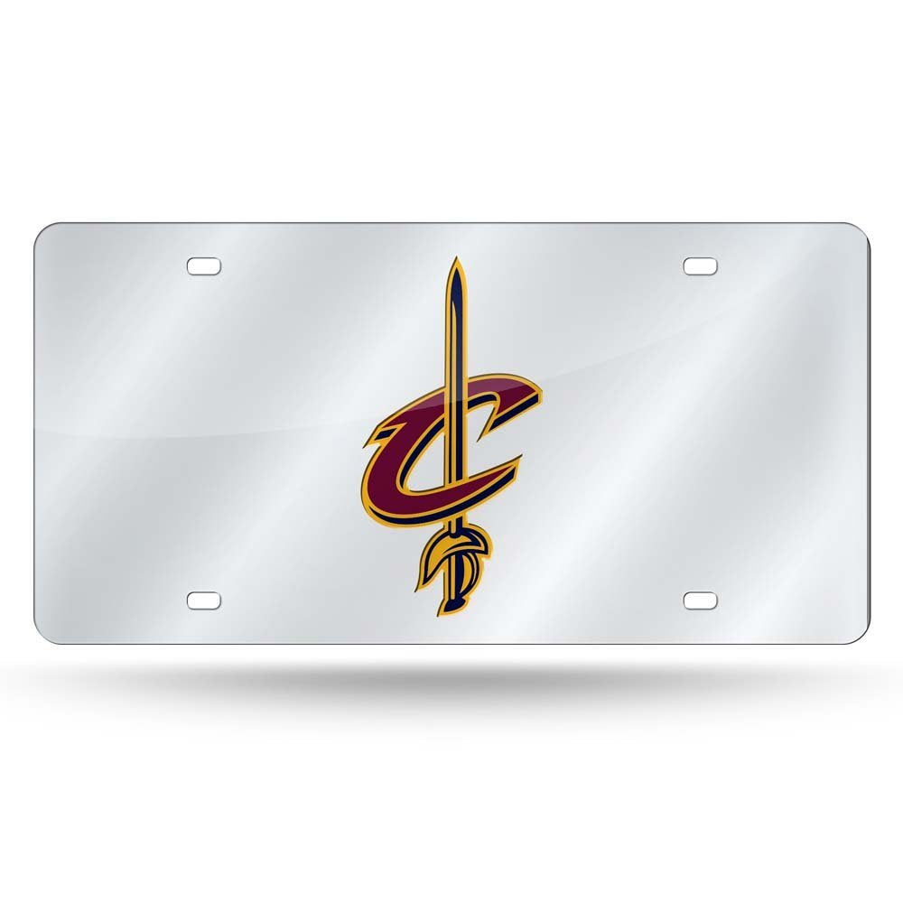 Rico NBA Cleveland Cavaliers Laser Cut Mirror Auto Tag Car License Plate LZS