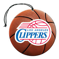 Team Promark NBA Los Angeles Clippers Air Freshener 3 Pack Nu-Car Scent