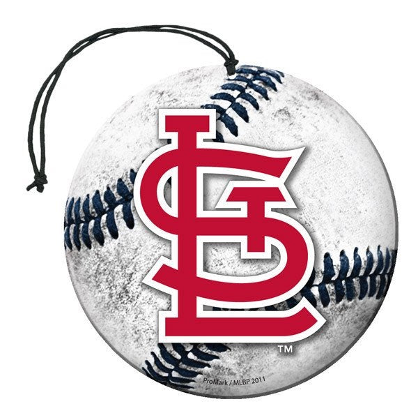 Team Promark MLB St Louis Cardinals Air Freshener 3 Pack Nu-Car Scent
