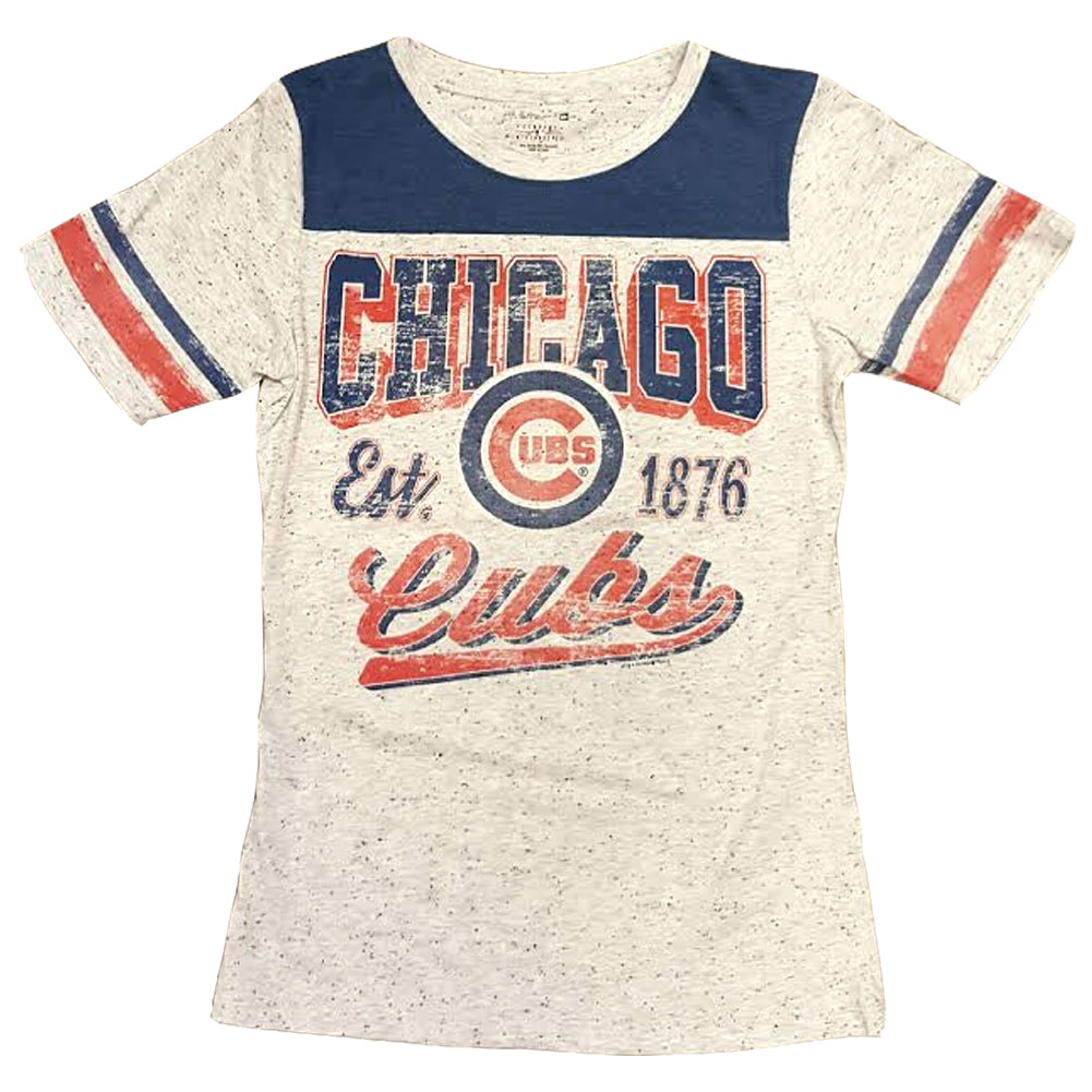 5th & Ocean MLB Women's Chicago Cubs Pepper T-Shirt