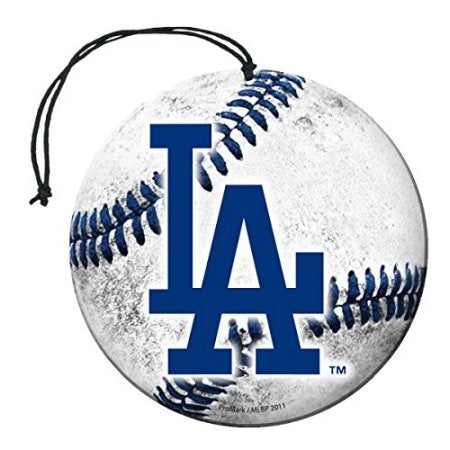 Team Promark MLB Los Angeles Dodgers Air Freshener 3 Pack Vanilla Scent