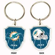 Great American Products NFL Miami Dolphins Team Logo Keychain Steel