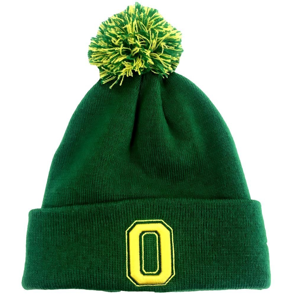 Zephyr NCAA Men's Oregon Ducks POM Knit