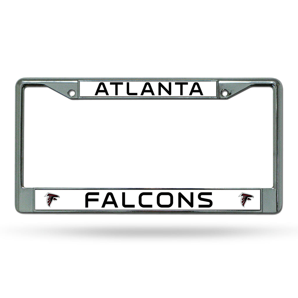 Rico NFL Atlanta Falcons Auto Tag Chrome Frame FC