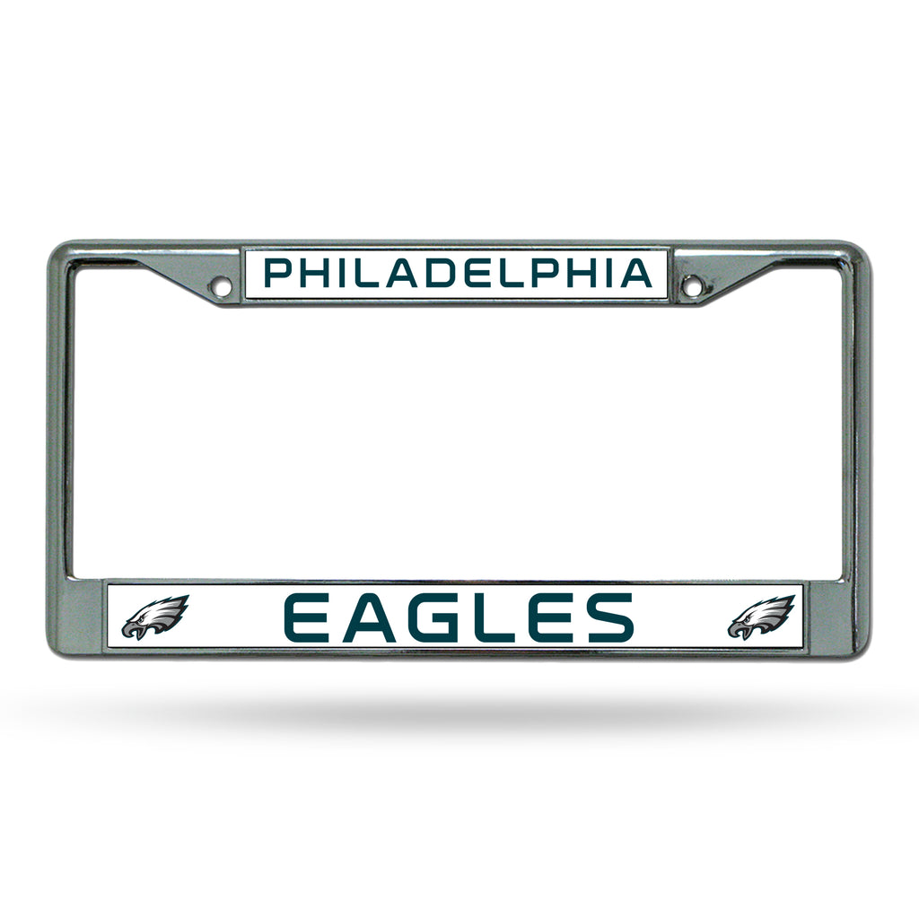 Rico NFL Philadelphia Eagles Auto Tag Chrome Frame FC