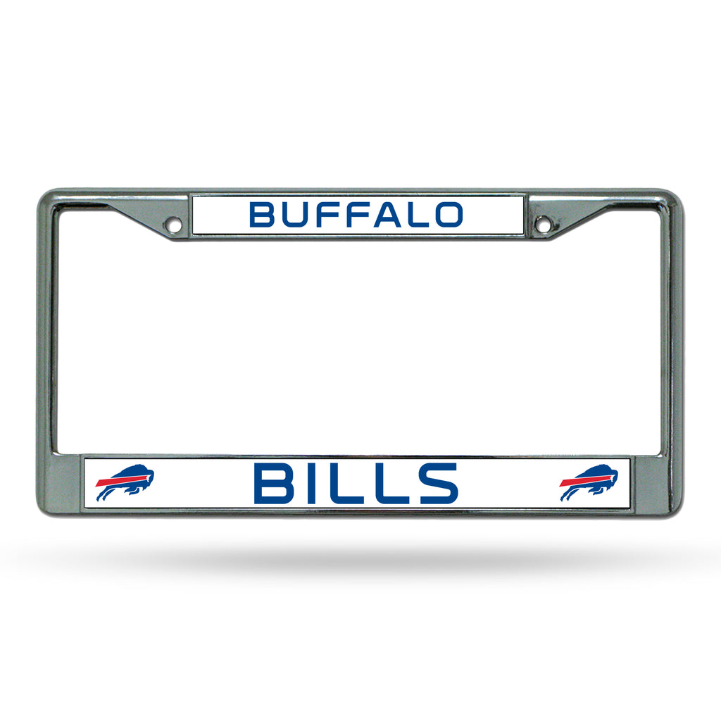 Rico NFL Buffalo Bills Auto Tag Chrome Frame FC