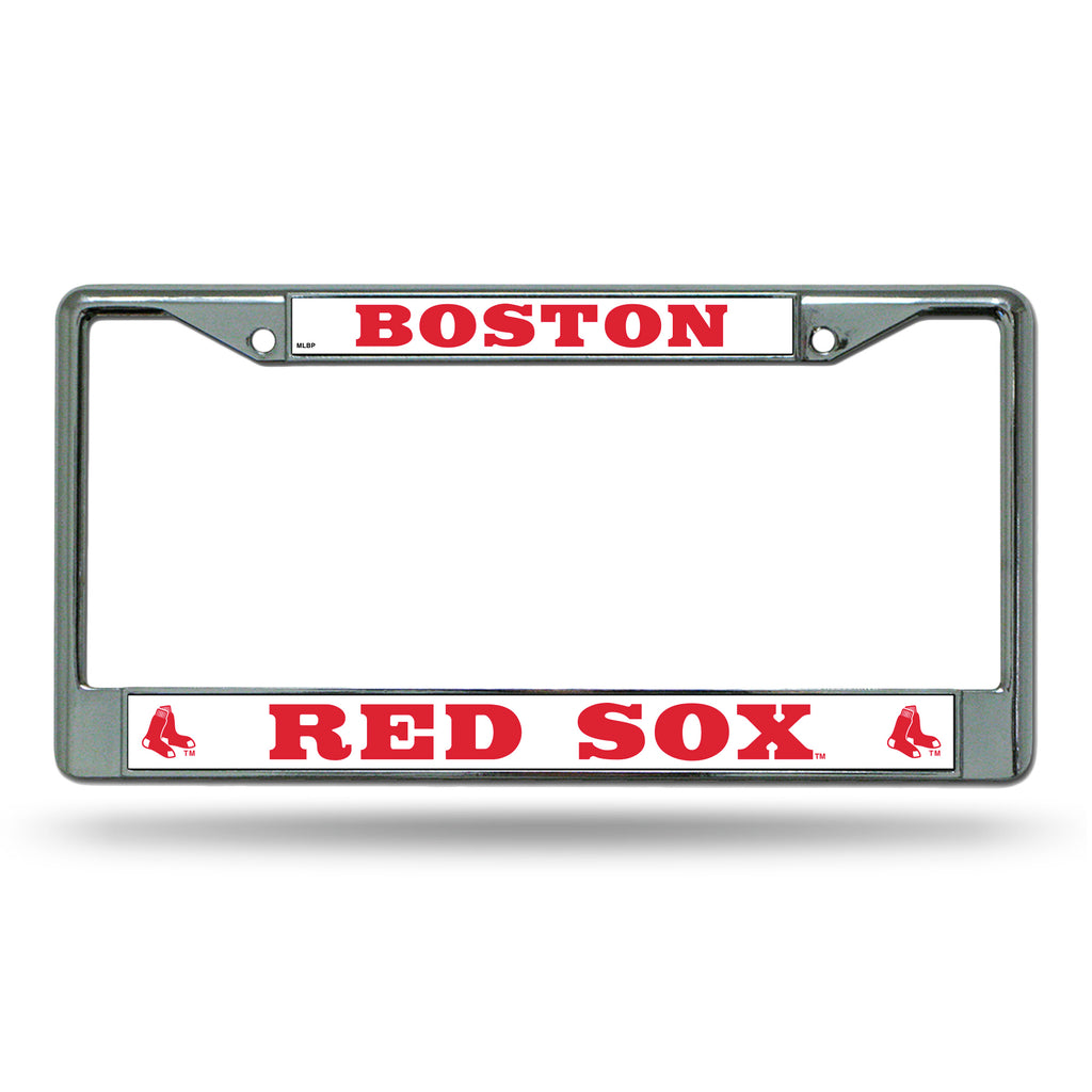 Rico MLB Boston Red Sox Auto Tag Chrome Frame FC