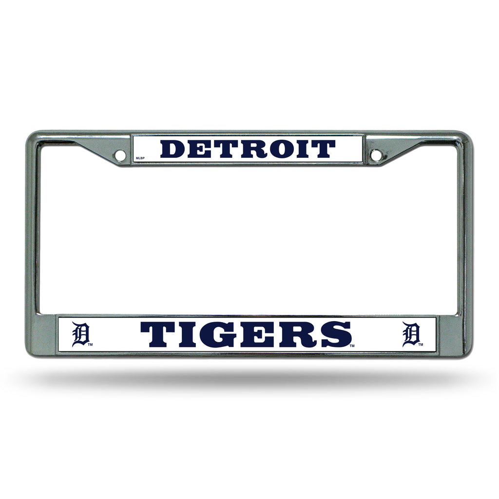Rico MLB Detroit Tigers Auto Tag Chrome Frame FC