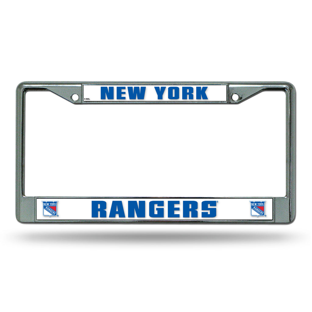 Rico NHL New York Rangers Auto Tag Chrome Frame FC