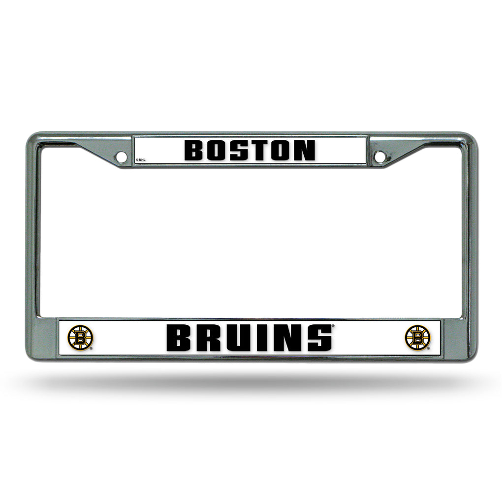 Rico NHL Boston Bruins Auto Tag Chrome Frame FC