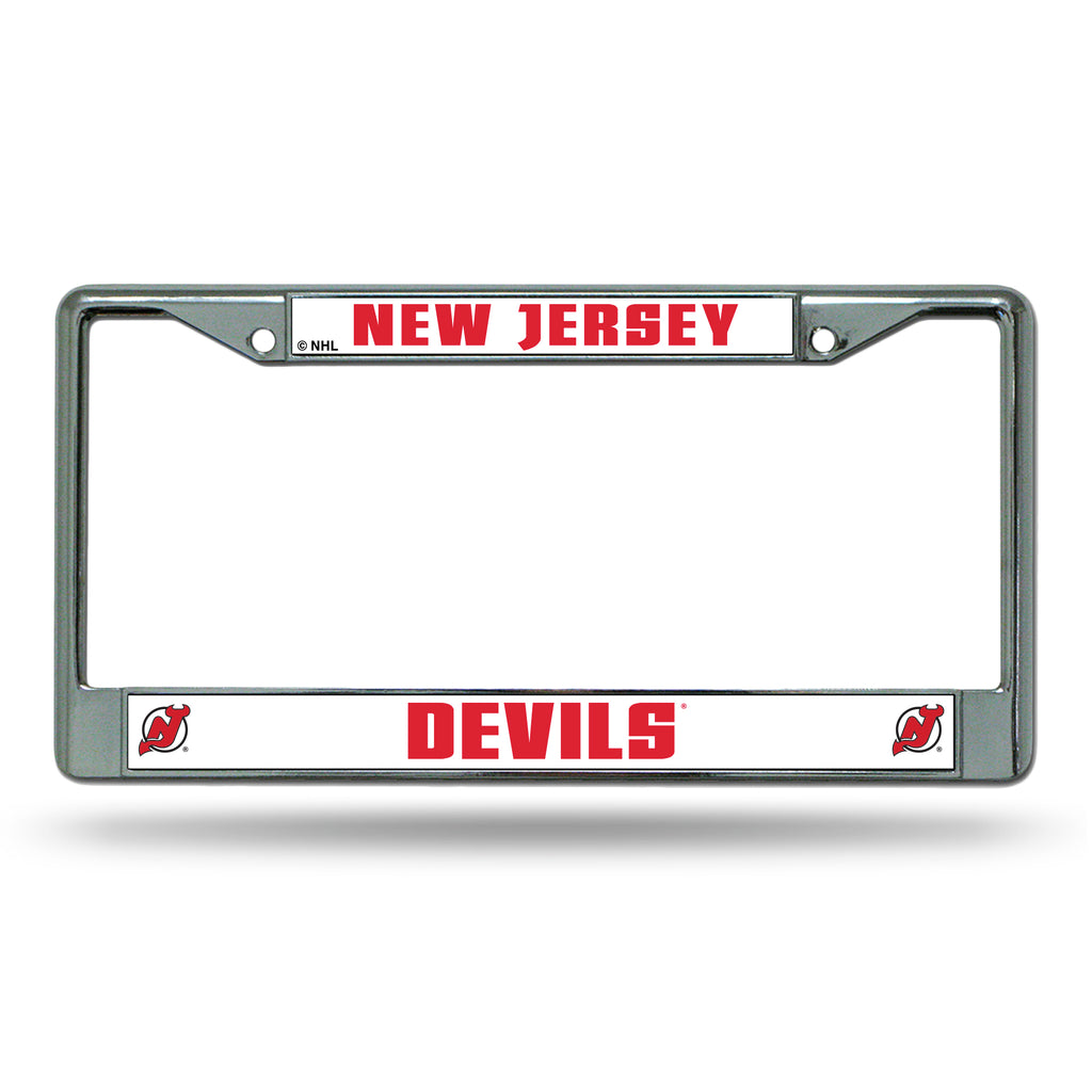 Rico NHL New Jersey Devils Auto Tag Chrome Frame FC