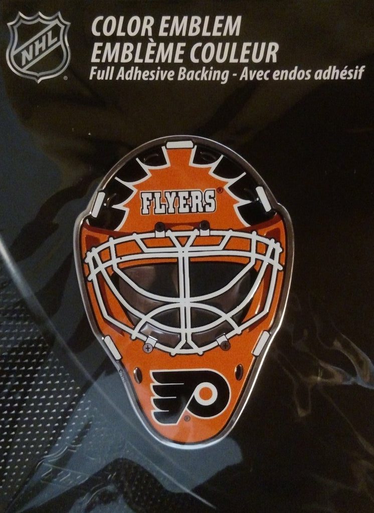 Team Promark NHL Philadelphia Flyers Team Helmet Auto Emblem