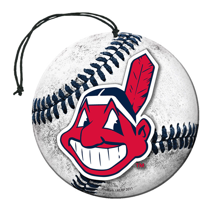 Team Promark MLB Cleveland Indians Air Freshener 3 Pack Vanilla Scent