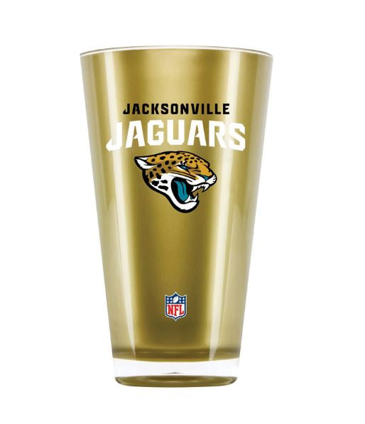 Duck House NFL Jacksonville Jaguars Insulated Tumbler Cup 20 oz Gold