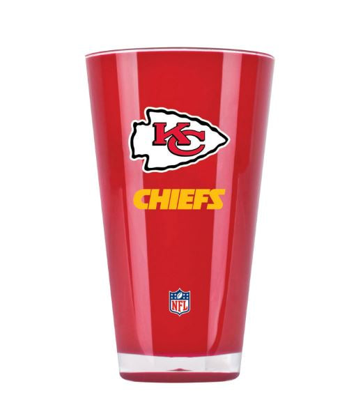 Duck House NFL Kansas City Chiefs Insulated Tumbler Cup 20 oz Red