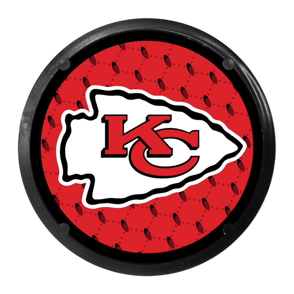 Team Promark NFL Kansas City Chiefs 2-Pack Car Coaster Air Freshener