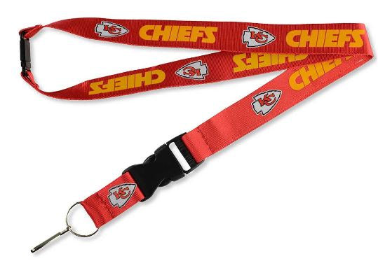 Aminco NFL Kansas City Chiefs Team Lanyard Red