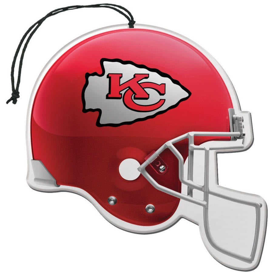 Team Promark NFL Kansas City Chiefs Air Freshener 3 Pack Nu-Car Scent