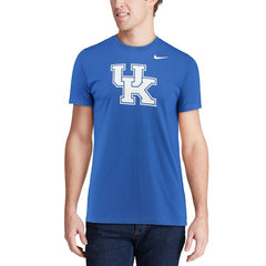Nike NCAA Men's Kentucky Wildcats Performance Cotton School Logo T-Shirt