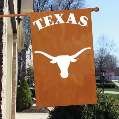 "Party Animal NCAA Texas Longhorns 28"" x 44"" House Banner Flag"