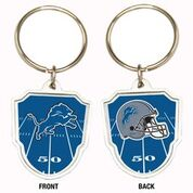 Great American Products NFL Detroit Lions Team Logo Keychain Steel