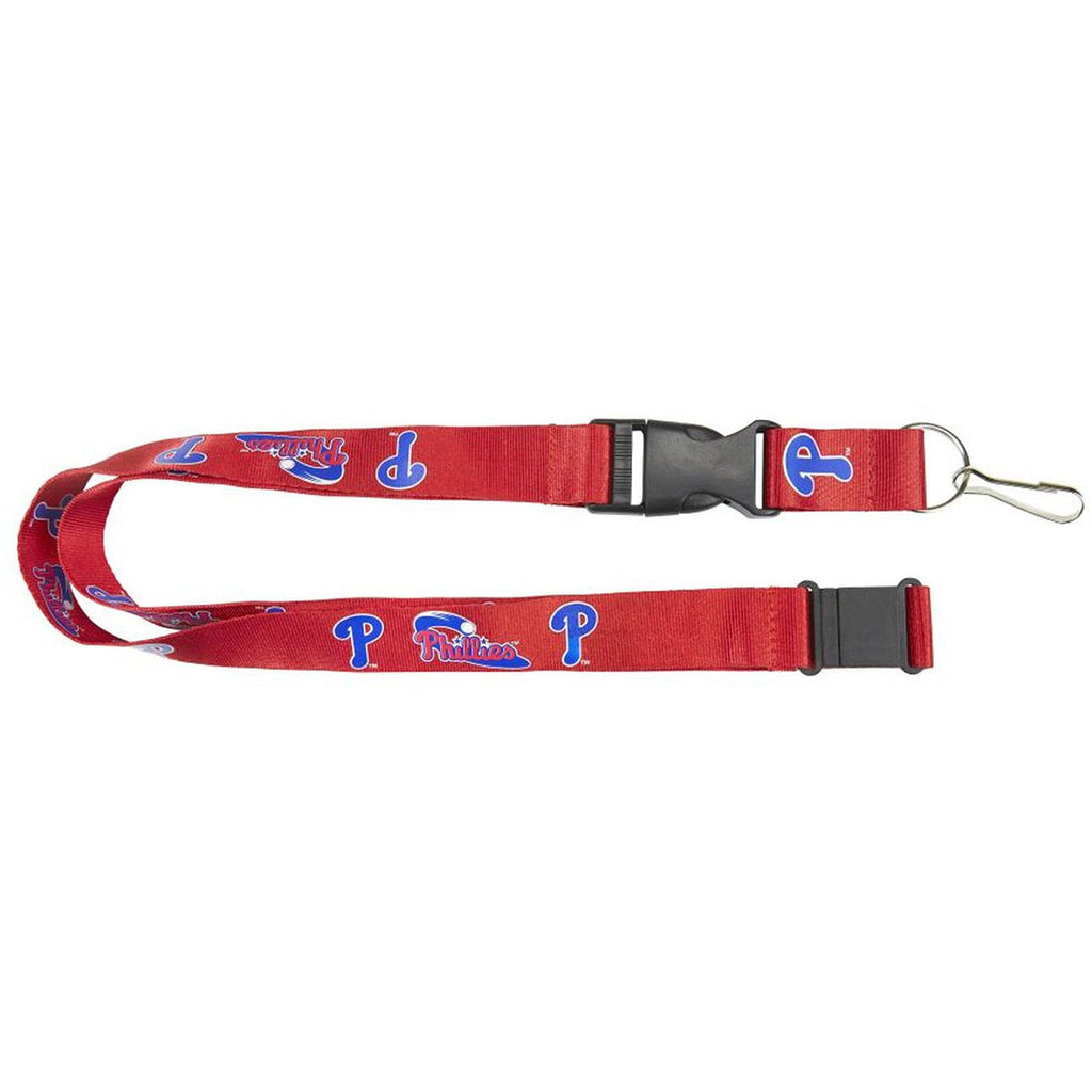 Aminco MLB Philadelphia Phillies Breakaway Lanyard Red