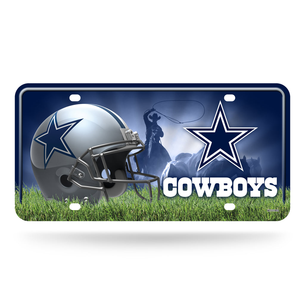 Rico NFL Dallas Cowboys Auto Metal Tag Car License Plate MTG