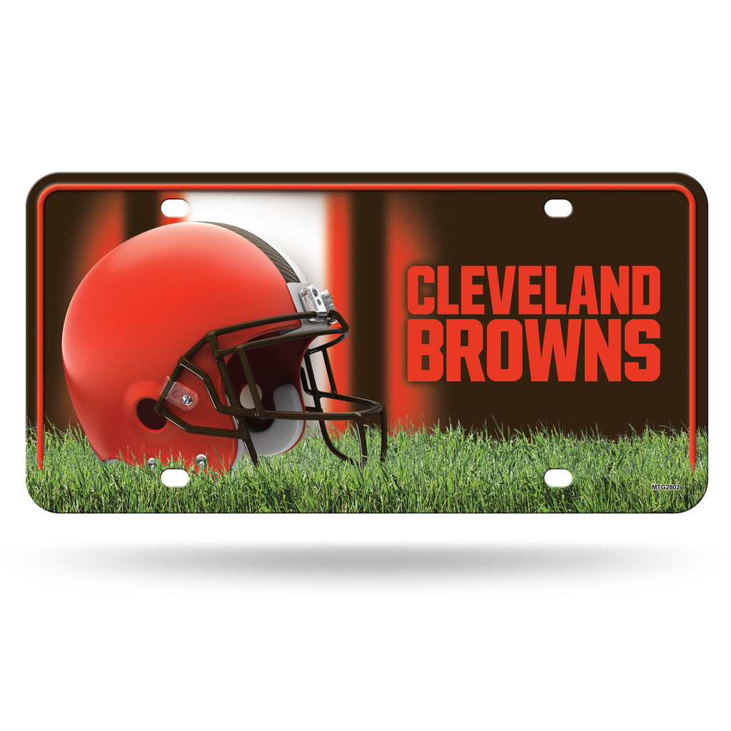 Rico NFL Cleveland Browns Auto Metal Tag Car License Plate MTG02