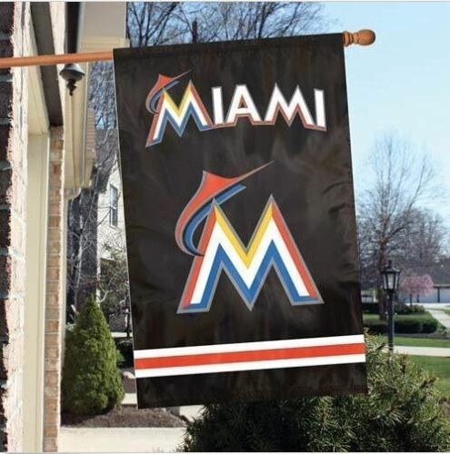 Party Animal MLB Miami Marlins House Banner Flag