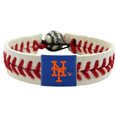 Gamewear MLB New York Mets Classic Baseball Bracelet