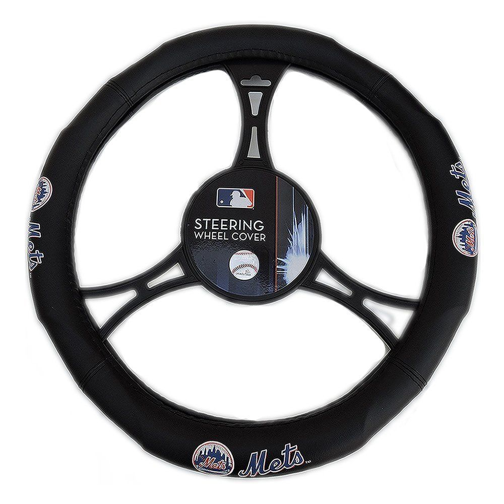 The Northwest Company MLB New York Mets Steering Wheel Cover