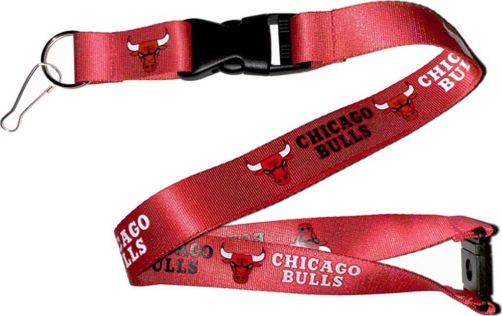 Aminco NBA Chicago Bulls Breakaway Lanyard Red