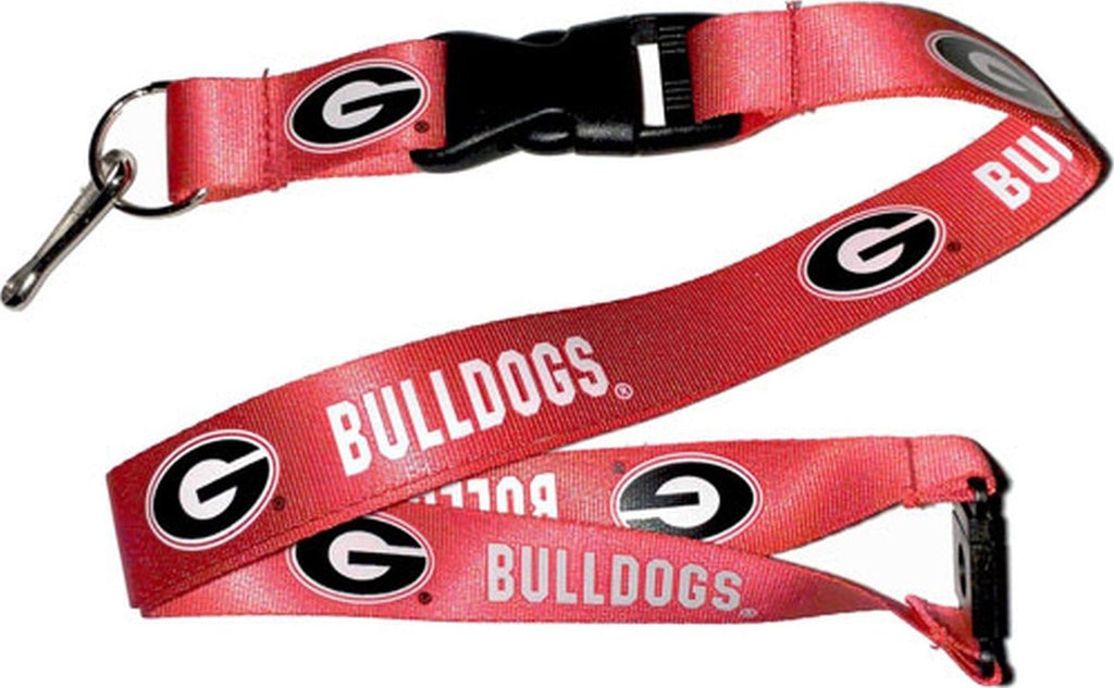 Aminco NCAA Georgia Bulldogs Breakaway Lanyard