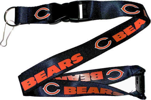 Aminco NFL Chicago Bears Breakaway Lanyard Navy