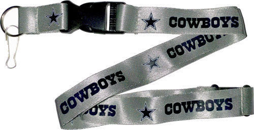 Aminco NFL Dallas Cowboys Breakaway Lanyard Silver